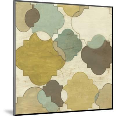 Quatrefoil Overlay I-June Erica Vess-Mounted Art Print