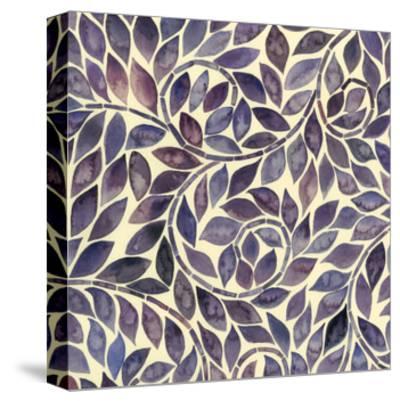 Amethyst Swirls I-Grace Popp-Stretched Canvas Print
