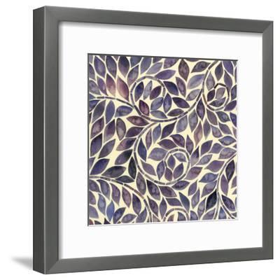 Amethyst Swirls I-Grace Popp-Framed Art Print