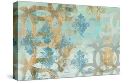 Pattern Construct I-Jennifer Goldberger-Stretched Canvas Print
