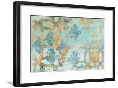 Pattern Construct I-Jennifer Goldberger-Framed Art Print