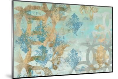 Pattern Construct I-Jennifer Goldberger-Mounted Art Print