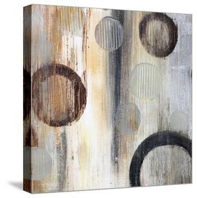Geometric Abstraction II-Irena Orlov-Stretched Canvas Print
