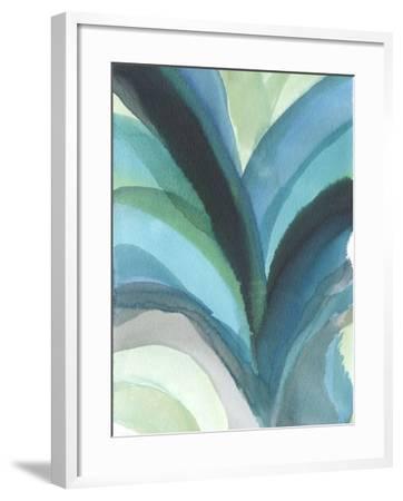 Big Blue Leaf I-Jodi Fuchs-Framed Art Print