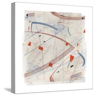 Vectora Panel II-James Burghardt-Stretched Canvas Print