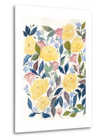 Unbound Blossoms I-Grace Popp-Metal Print