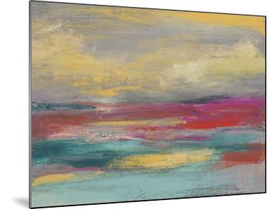 Sunset Study I-Jennifer Goldberger-Mounted Art Print