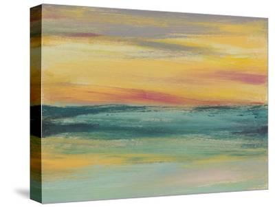 Sunset Study III-Jennifer Goldberger-Stretched Canvas Print