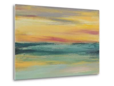 Sunset Study III-Jennifer Goldberger-Metal Print