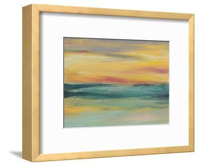 Sunset Study III-Jennifer Goldberger-Framed Art Print