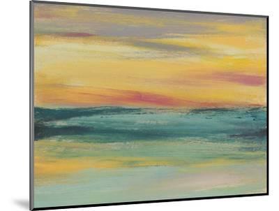 Sunset Study III-Jennifer Goldberger-Mounted Art Print