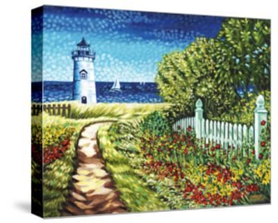 Lighthouse Retreat II-Carolee Vitaletti-Stretched Canvas Print