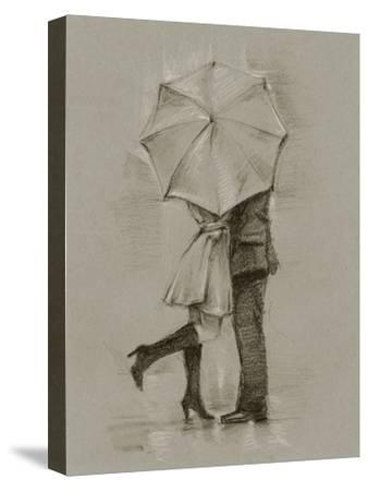 Rainy Day Rendezvous III-Ethan Harper-Stretched Canvas Print