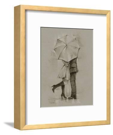 Rainy Day Rendezvous III-Ethan Harper-Framed Art Print
