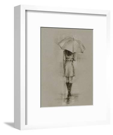 Rainy Day Rendezvous I-Ethan Harper-Framed Art Print