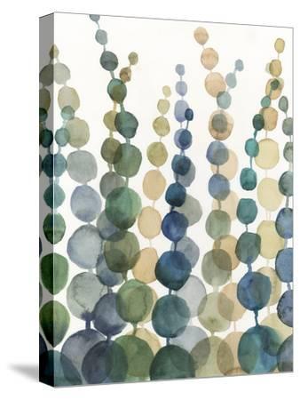 Pompom Botanical I-Megan Meagher-Stretched Canvas Print
