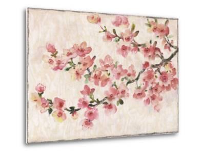 Cherry Blossom Composition I--Metal Print
