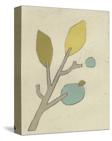 Simple Stems VI-June Erica Vess-Stretched Canvas Print