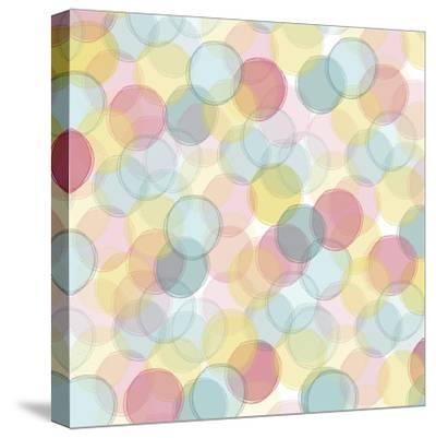 Popping Flowers VI-Ali Benyon-Stretched Canvas Print