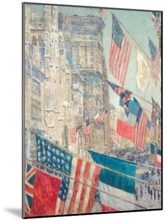 Allies Day, May 1917-Childe Hassam-Mounted Giclee Print