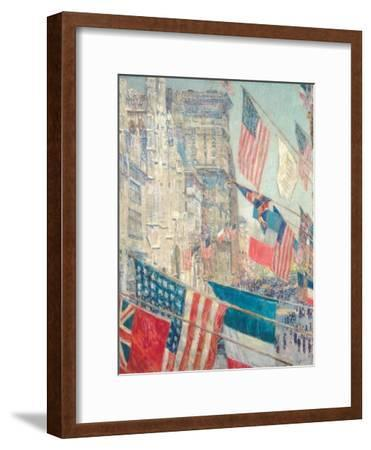 Allies Day, May 1917-Childe Hassam-Framed Giclee Print
