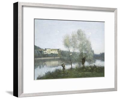 Ville D'Avray, c.1865-Jean-Baptiste-Camille Corot-Framed Giclee Print