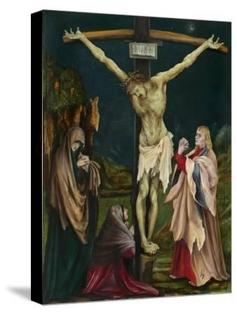 The Small Crucifixion, c.1511-20-Matthias Grunewald-Stretched Canvas Print