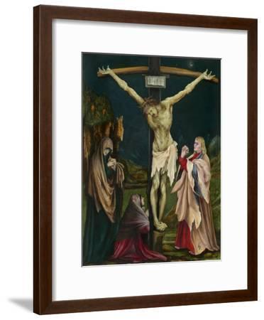 The Small Crucifixion, c.1511-20-Matthias Grunewald-Framed Giclee Print