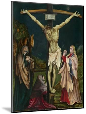 The Small Crucifixion, c.1511-20-Matthias Grunewald-Mounted Giclee Print