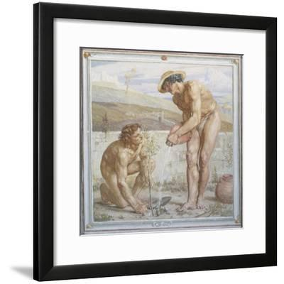 Paul and Apollos-Sir Edward Poynter-Framed Giclee Print