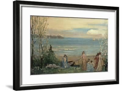 Spring by the Sea-Charles Conder-Framed Giclee Print
