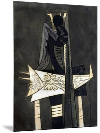 Ibaye-Wifredo Lam-Mounted Giclee Print
