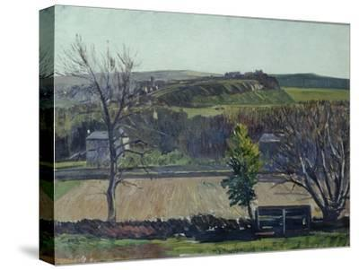 The Carse of Stirling-William York MacGregor-Stretched Canvas Print