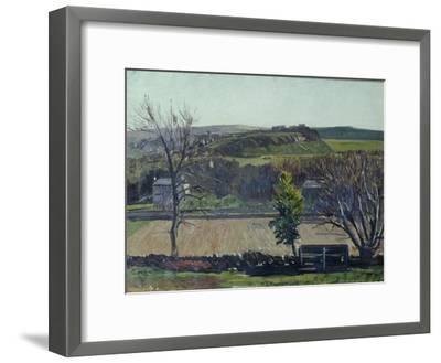 The Carse of Stirling-William York MacGregor-Framed Giclee Print