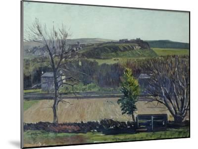 The Carse of Stirling-William York MacGregor-Mounted Giclee Print