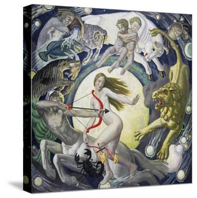 The Zodiac-Ernest Procter-Stretched Canvas Print