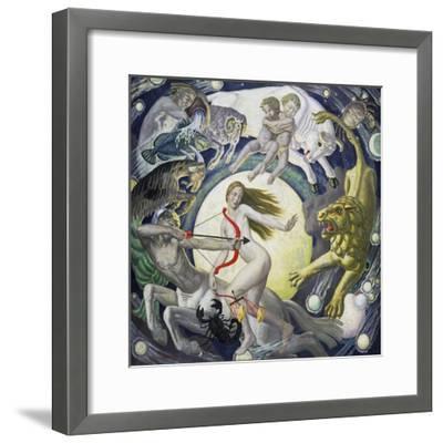 The Zodiac-Ernest Procter-Framed Giclee Print