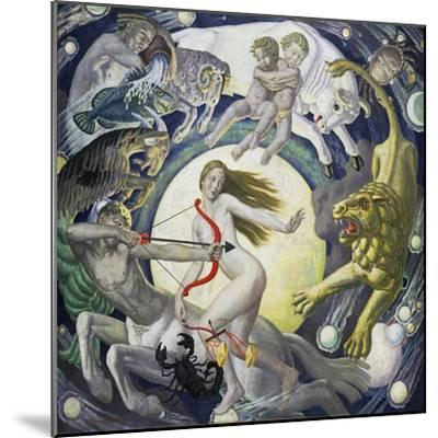 The Zodiac-Ernest Procter-Mounted Giclee Print