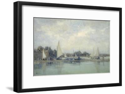 High Tide, Blakeney-Sir Walter Russell-Framed Giclee Print