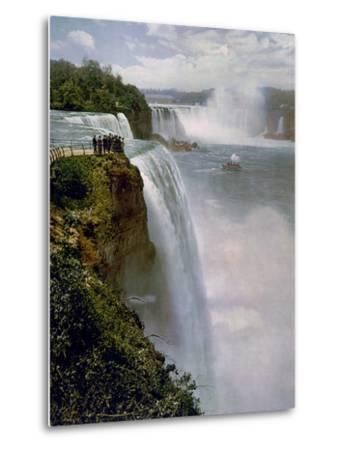 Niagara Falls from Prospect Point--Metal Print