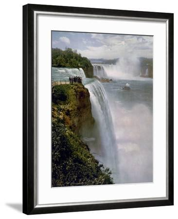 Niagara Falls from Prospect Point--Framed Photo
