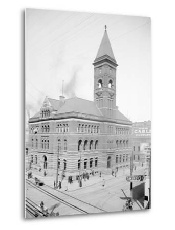 Post Office, Birmingham, Ala.--Metal Print