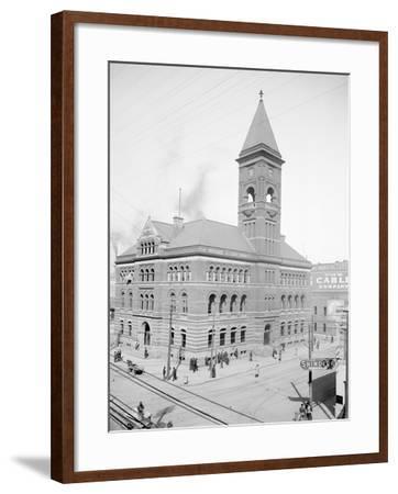 Post Office, Birmingham, Ala.--Framed Photo