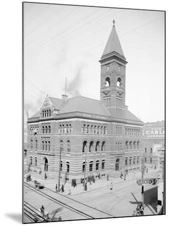 Post Office, Birmingham, Ala.--Mounted Photo
