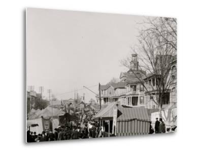A Southern Street Fair, Vicksburg, Miss.--Metal Print