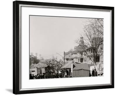 A Southern Street Fair, Vicksburg, Miss.--Framed Photo