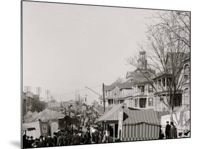 A Southern Street Fair, Vicksburg, Miss.--Mounted Photo