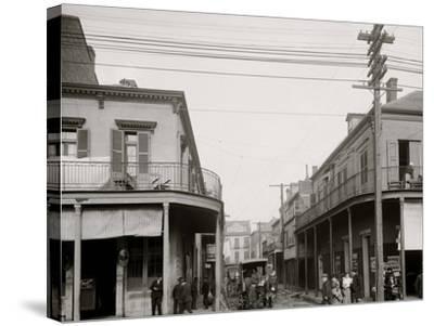 Italian Headquarters, Madison St., New Orleans, La.--Stretched Canvas Print