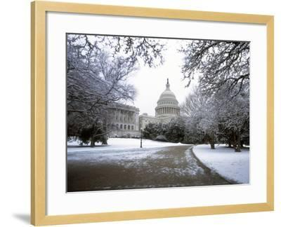 United States Capitol Building - Houses of Congress-Carol Highsmith-Framed Photo