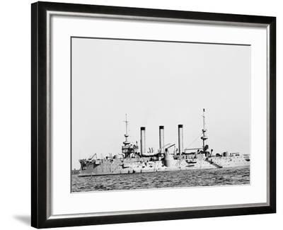 The U.S.S. Brooklyn--Framed Photo